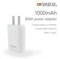 USB Wall Charger, Rainbow 1A USB Charger Plug for iPhone 8 X 7 / 7s / 6s / 6 / 6 Plus, iPad Air 2, Galaxy S6, Note 5 and More