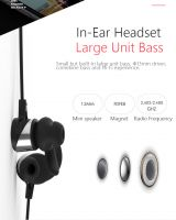 Rainbow BT-200 Wireless Earbuds Sweatproof Sport Earphones-Bluetooth Headphones, Lightweight & Fast Pairing (Comfortable Silicon Earbuds, Magnetic Design)