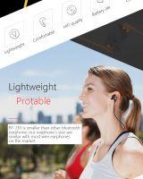Rainbow BT-210 Wireless Earbuds Sweatproof Sport Earphones-Bluetooth Headphones, Lightweight & Fast Pairing (Comfortable Silicon Earbuds, Magnetic Design)