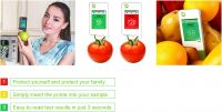 Greentest nitrate tester for fruits and vegetables