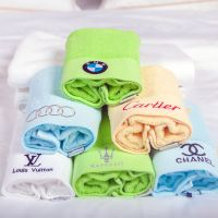100% cotton hotel face towels with cheap price