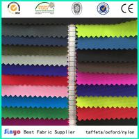 PU/PVC coated 100% polyester 600D oxford fabric for bags/luggage
