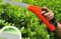 high quality D shape anti slip handle folding hand pruning saw