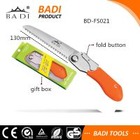 high quality folding hand pruning saw with pocket case