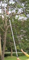 aluminum telescopic handle high tree pole saw pruner for branches