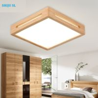 SL design creative wood lights ceiling lamp living room ceiling lights fixture led ceiling lighting bedroom ceiling lights Y0592