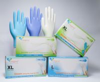 Black Nitrile examination gloves
