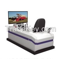 Harvester Training Simulator, Tractor training simulator