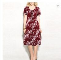 China manufacturer custom wholesale high quality women floral print dresses