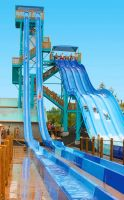 Water Amusement Park Equipment Slide Board Colorful Slide Adult Children Good Quality Negotiable HLWATER-3