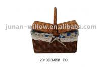picnic willow basket
