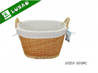 diffrent shape storage wicker basket