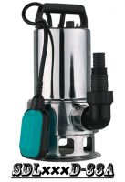 (SDL400D-31A) Stainless Steel Cheapest Price Garden Submersible Pump with Float Switch for Dirty Water