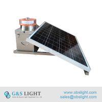 Medium intensity Type A Solar Aviation Obstruction Light/aircraft warning light