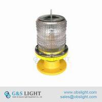 Low intensity Solar Powered Aviation Obstruction Light/aircraft warning light