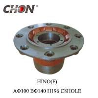 HINO wheel hub in front axle