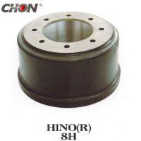 Hino brake drum 43512-2450 truck parts