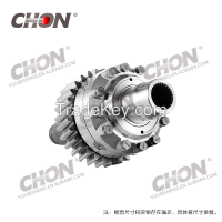 europe heavy truck parts for benz Intermediate differential