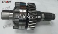truck parts for Dongfeng K2000 differential assy shaft gear