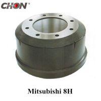 brake drum for Mitsubishi MC865369 truck parts FV355-215 front axle