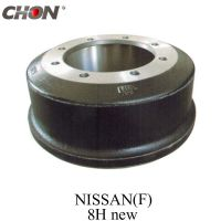 brake drum for Nissan 40207-90118 UD truck parts CW520 front axle