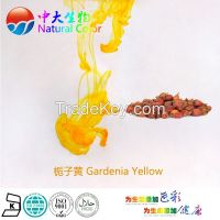 natural food color gardenia yellow pigment supplier