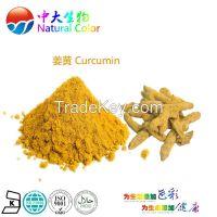 natural food color curcumin pigment supplier