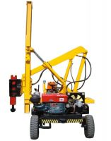C channel/U post highway guardrail hydraulic pile drivers