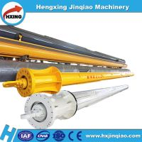 Manufacture of rotary drilling rig use friction kelly bar for large-caliber foundation piling