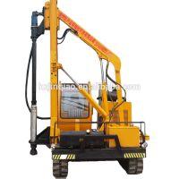 HXR series pre-drilling driven crawler pile driver