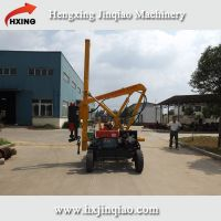 Fence installation machine extraction pile driver manufacturer