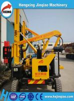 Tractor equipment/Road safety guardrail,barrier crash pile driver