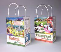 Safari & Farmyard Doodle Bag/Lunch Bag