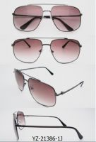 Unisex Sunglasses Hot Sale Vintage Unisex Retro Metal Sunglasses (YZ-21386-1J)