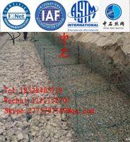TUV Certification Galvanized river bank protect gabion basket/gabion box(ISO 9001 factory)