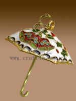 cloisonne Christmas decoration
