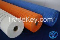 Glass fiber netting cloth