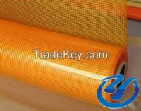 Glass fiber netting cloth