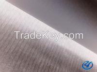 Fiberglass tissue mat for roofing
