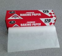 Silicone coated colored baking parchment paper for baking