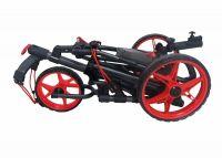 Founders 2016 Qwik Fold 3.5 3 Wheel Golf Push Pull Cart Trolley