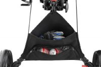 Golf Push Cart Folding New One Click 3 Wheel