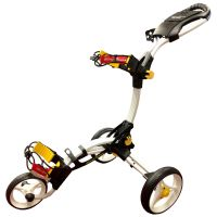 TOMMY ARMOUR 845 COMPACT 3 WHEEL PUSH GOLF TROLLEY