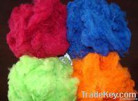 dope dyed polyester staple fiber