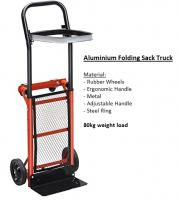 80KG capacity folding hand trolley sack trucks,