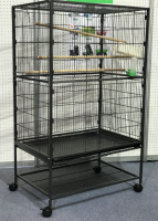 Bird cage, metal cage, pet cage, parrot cage