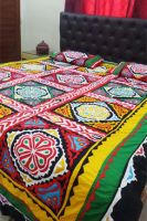 Aman Jee Applique Ralli Bed Sheet
