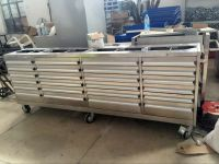 """TJG ( HOT )Workshop Tools Box 96"""" 24 Drawers Garage Roller Workbench For Factory"""