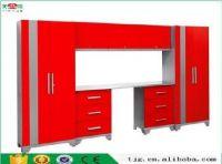 TJG-GSC8989 Modular Garage Cabinets Storage Systems Red