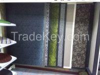 PVC woven floor rugs